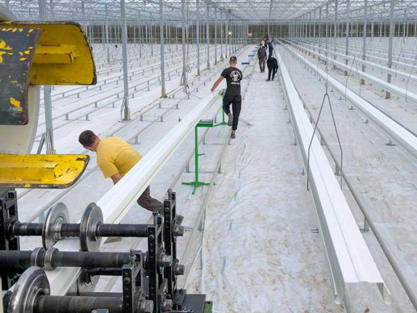 Medlar Fruit Farm Profiling Gutter system