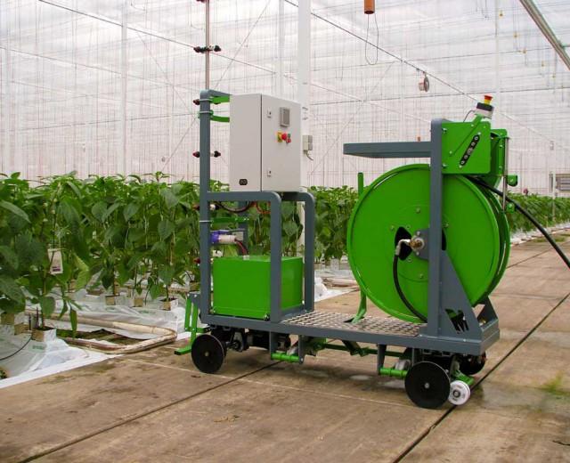 Spraying machines 2